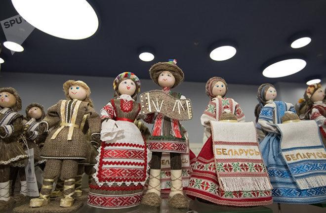 Белорусские сувениры в Астане на Экспо 2017