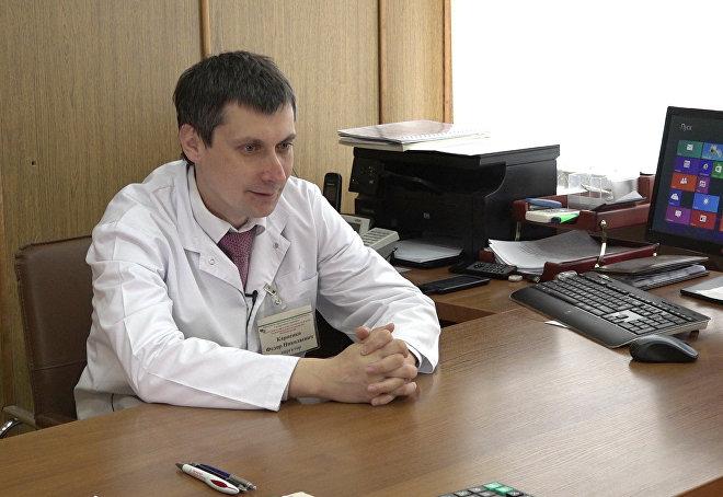 Директор РНПЦ трансфузиологии и медицинских биотехнологий Федор Карпенко