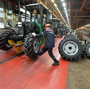 Корпус сборки тракторов МТЗ