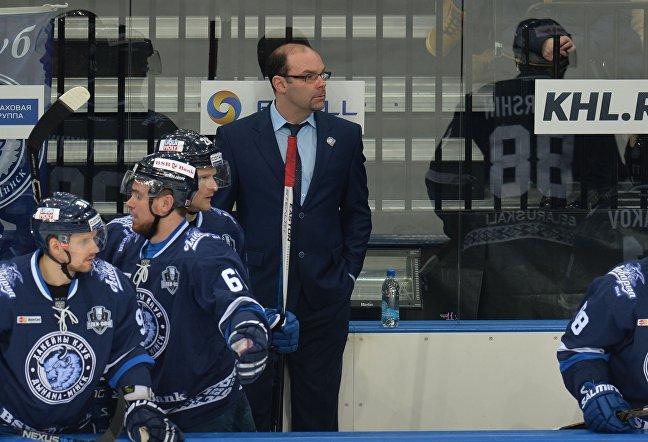 Главный тренер ХК Динамо-Минск Крэйг Вудкрофт