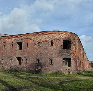 Паўднёва-заходняя частка абарончай казармы Цытадэлі