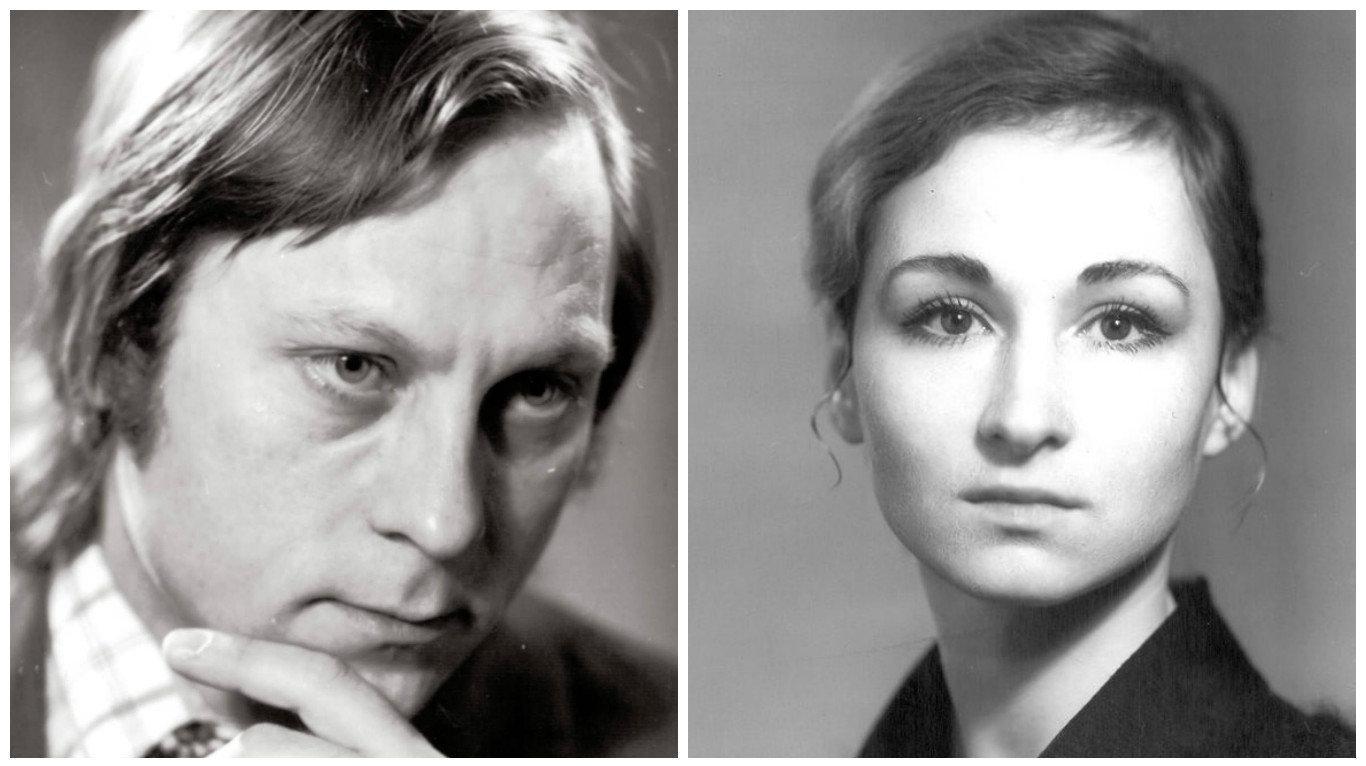 Виктор Саркисьян и Ольга Лаппо на заре своей карьеры - в театре их называли Саркис и Лапочка