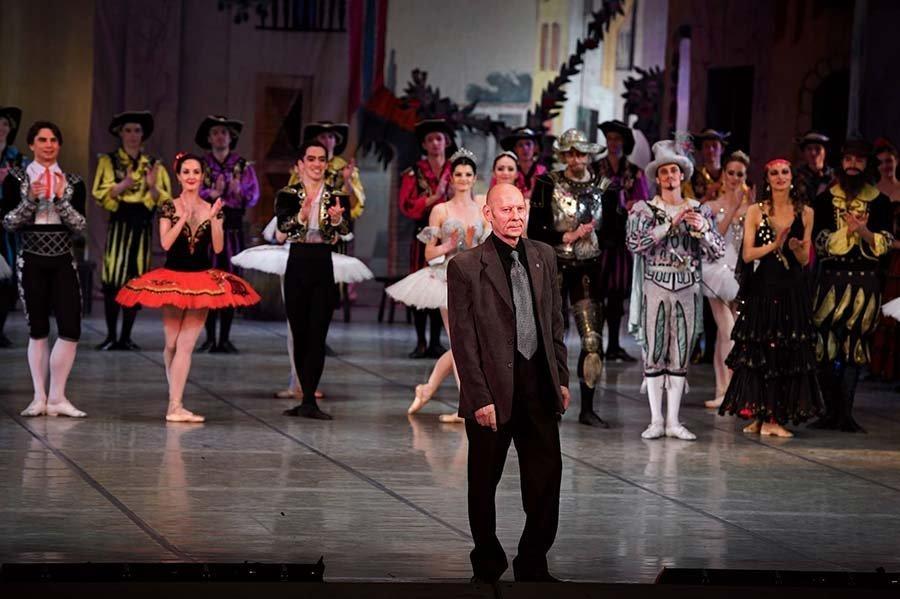 Юбилейный вечер Виктора Саркисьяна на сцене Большого театра в феврале 2017 года