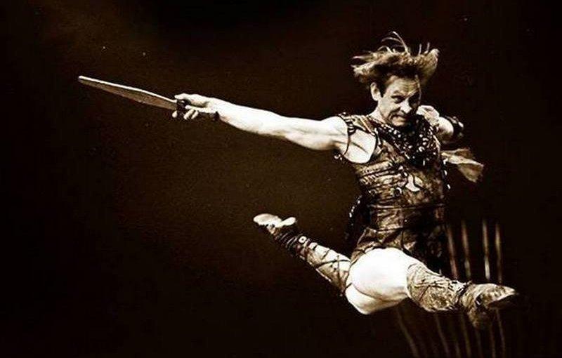Виктор Саркисьян исполняет партию Красса в балете Спартак
