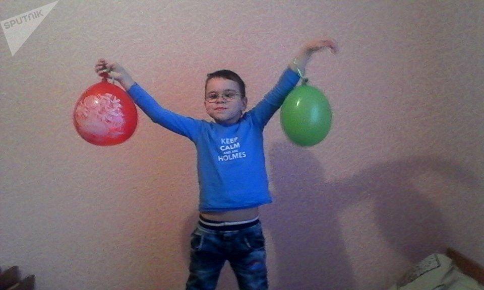 Владислав был активным и жизнерадостным ребенком