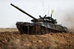 Второй танковый биатлон на Линии Сталина