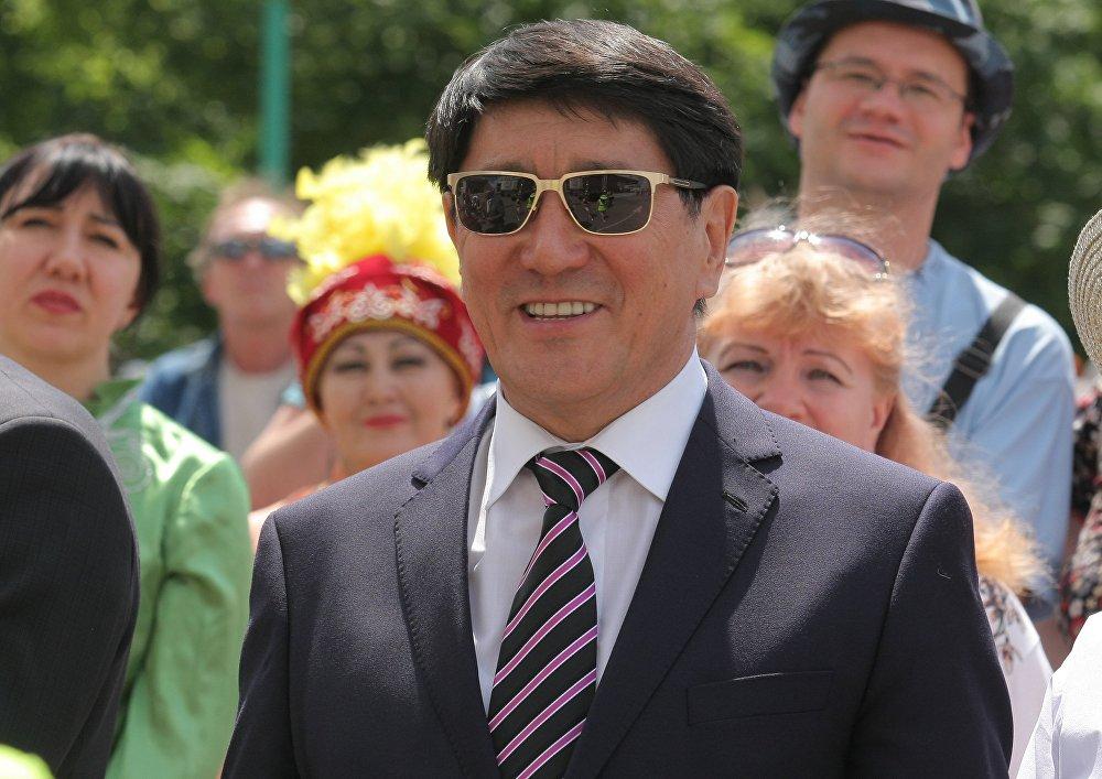 Чрезвычайный и Полномочный Посол Республики Казахстан в Республике Беларусь Ергали Булегенов.