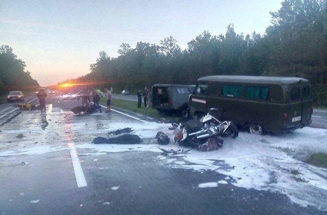 Авария на трассе М1