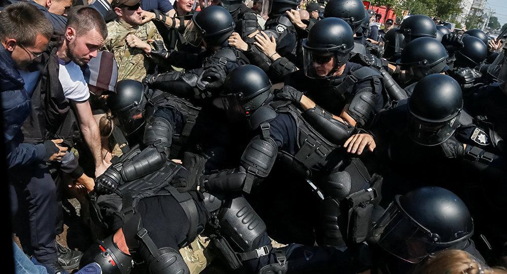 Стычки в Киеве во время Марша равенства