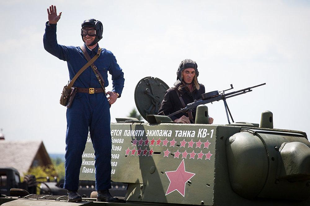 Гісторыка-культурны цэнтр таксама абраны для месца правядзення танкавага біятлона адмыслова.