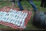 Видеофакт: белорусы перевозили контрабандный гашиш в газовом баллоне