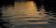 Вечерняя река, архивное фото