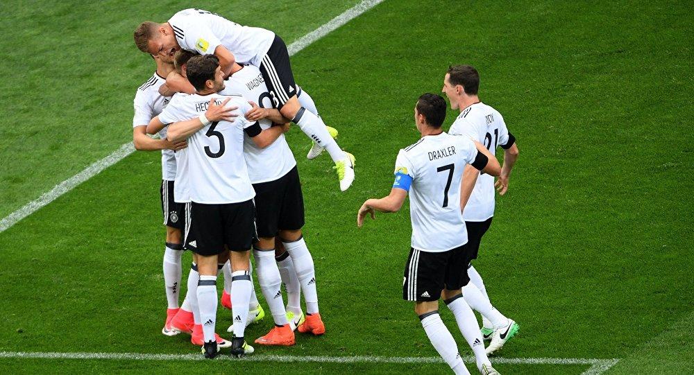 Футбол. Кубок конфедераций-2017. Матч Австралия – Германия