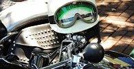 Мотоциклетный шлем, архивное фото