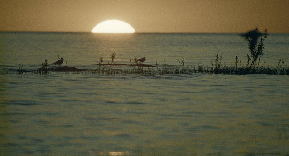 Ладожское озеро архивное