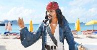 Капітан Джэк Верабей на пляжы