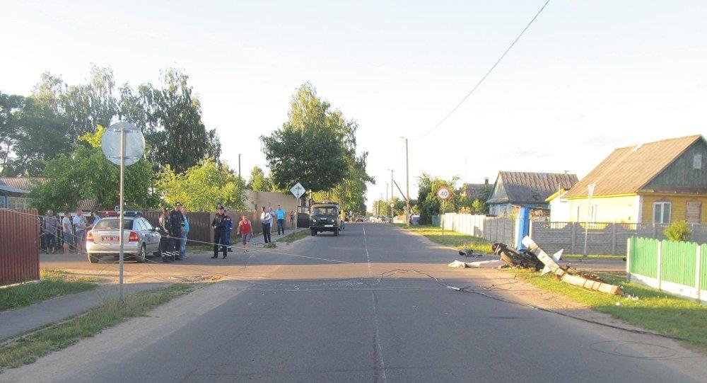 У 18-летнего мотоциклиста, разбившегося насмерть в Узде, не было прав
