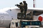 Антитеррористические учения в аэропорту Минск