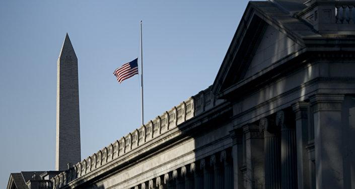 Здание Минфина США в Вашингтоне