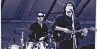 1989 год. Віктар Цой і гурт Кино. Канцэрт на мінскім стадыёне Дынама.