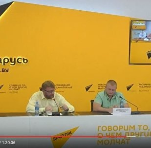 Видеомост в МПЦ Sputnik Беларусь