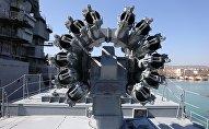 Установка Калибр на фрегате Адмирал Григорович ВМС России, архивное фото
