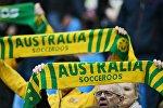 Болельщики сборной Австралии во время матча Кубка конфедераций-2017