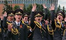 В академии МВД прошел торжественный выпуск молодых лейтенантов