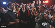 Рэп-битву Урганта и Шнура посмотрели за сутки почти 3 миллиона раз