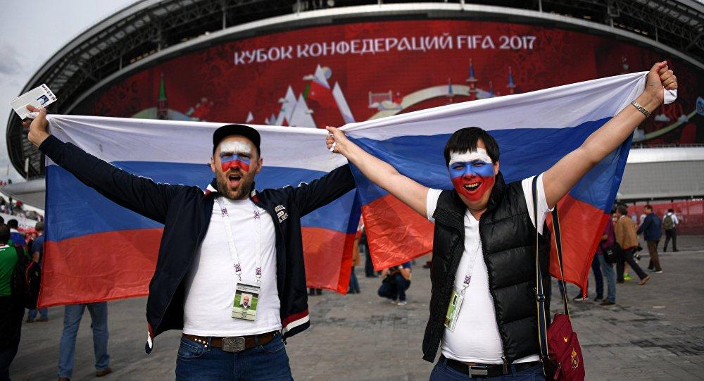 Российская Федерация вошла втройку «самых удачных хозяек» Кубка конфедераций