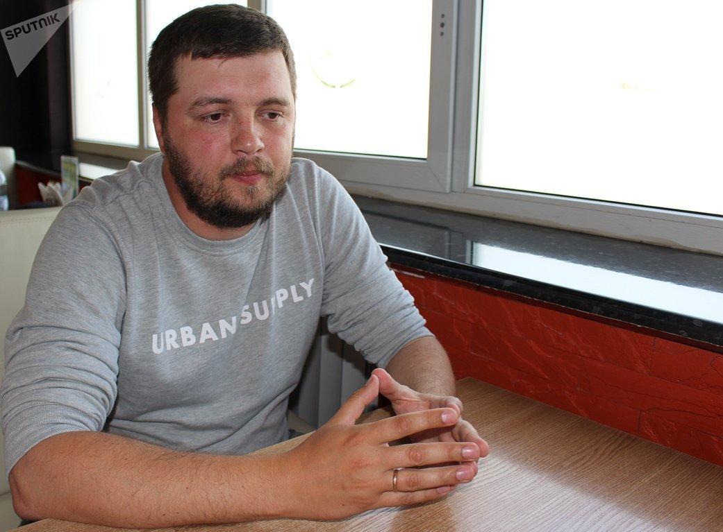 Директор унитарного предприятия Маёнтак Падароск и правая рука учредителя Андрей Колос