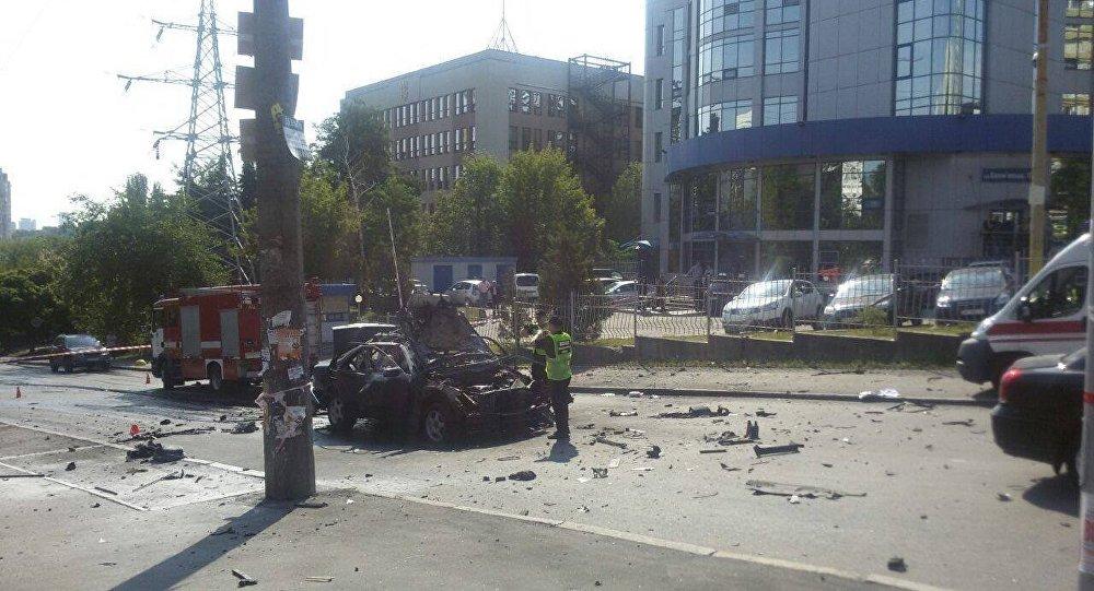 ВКиеве наперекрёстке ул.Соломенской иАлексеевской произошёл теракт