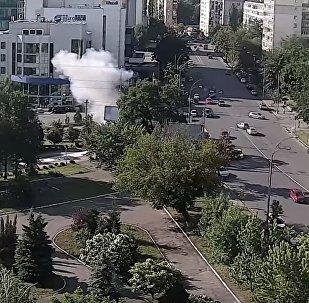Взрыв в центре Киева 27.06.2017