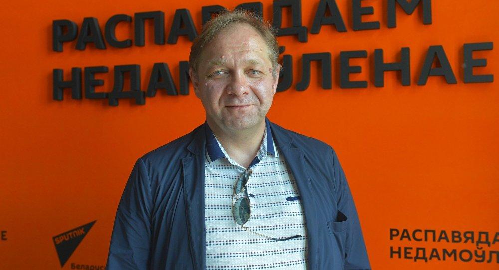 Палітычны эксперт, дацэнт МДІМА Кірыл Коктыш