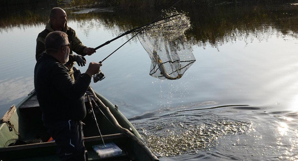 Асенняя рыбалка