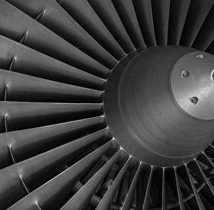 Лопасти самолетного двигателя
