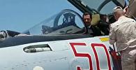 Президент Сирии Башар Асад посетил авиабазу Хмеймим