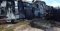 Пожар на заводе в Толочине