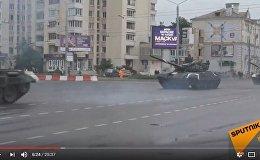 Подготовка к генеральной репетиции парада в Минске