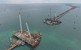 Конструкции автодорожной части Крымского моста готовы на 70%