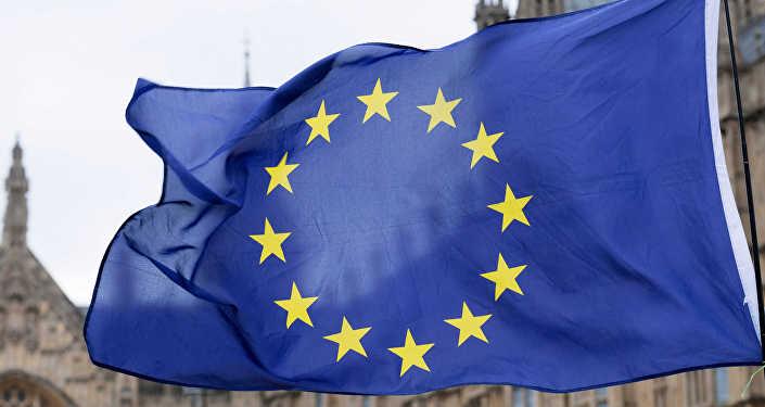 Флаг Европейского Союза, архивное фото