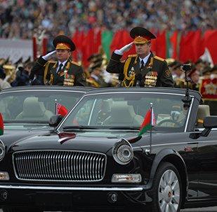 Всего в параде было задействовано около 3,5 тысячи военнослужащих.