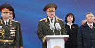 Александр Лукашенко на параде в честь Дня Независимости Республики Беларусь