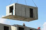 Строительство жилья, архивное фото