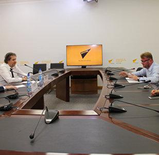 Встреча с представителем Управления Верховного комиссара ООН по делам беженцев в Республике Беларусь (УВКБ ООН) Жан-Ива Бушарди