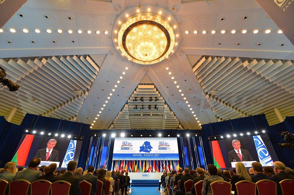 Проект контртеррористической резолюцииРФ принял КомитетПА ОБСЕ