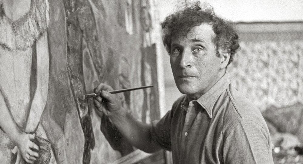 Марк Шагал работал практически до последних дней жизни