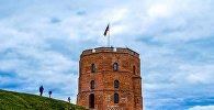 Вежа Гедыміна, архіўнае фота