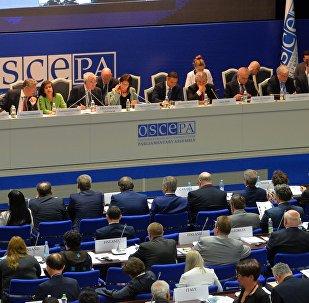 Второй день ПА ОБСЕ в Минске