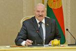 Александр Лукашенко на встрече с делегацией Конгресса США 6 июля 2017 года